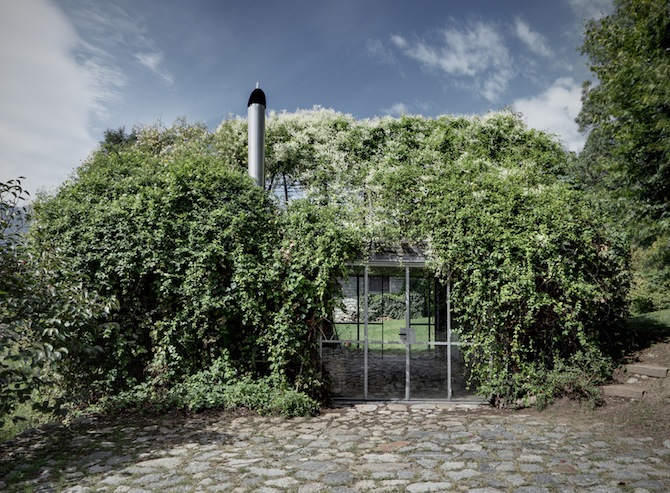 grönt hus 1