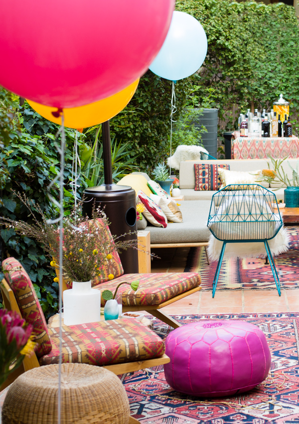Garden party with color anna gillar for Decoration theme jardin