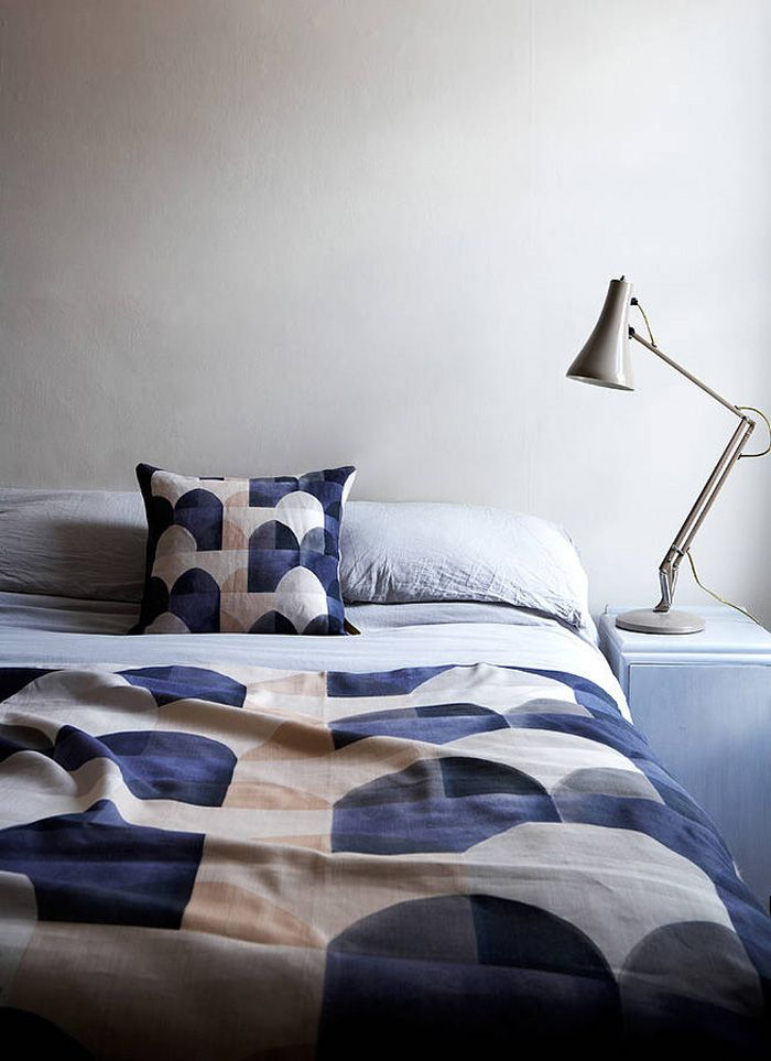 blue love bedroom
