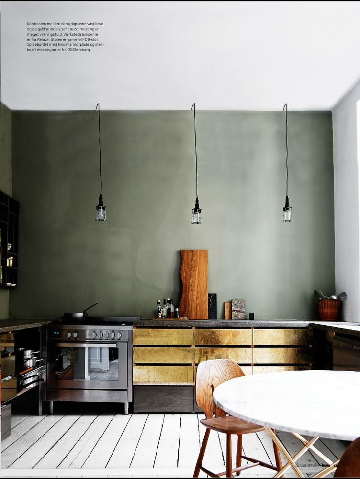green kitchen 3