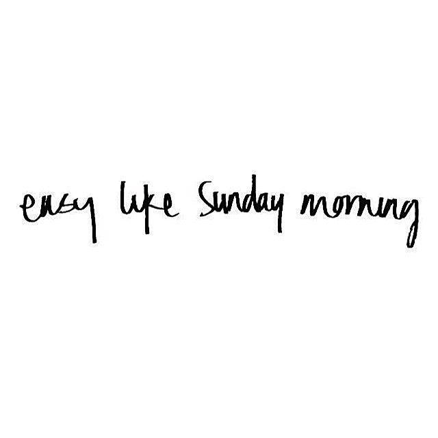 easy like a Sunday 2