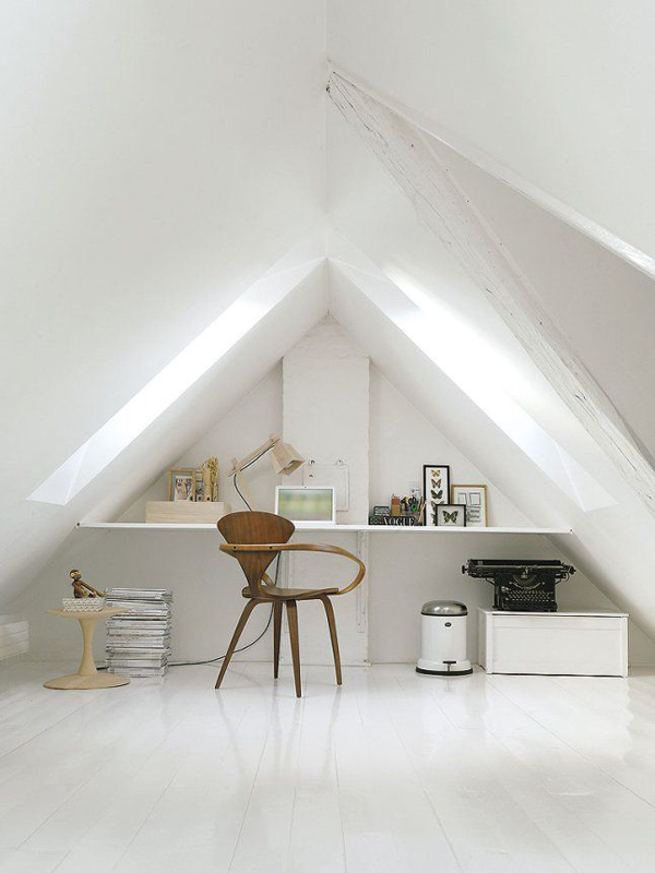 office attic