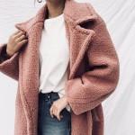 pink trend coat